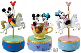 MICKEY & MINNIE Musical !Set van 3 beelden Enchanting Disney