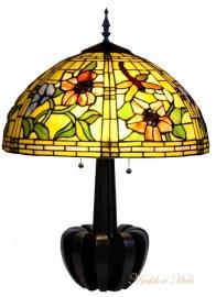 9934 Tafellamp Tiffany H72cm Ø51cm Garden Dragonfly