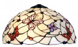 5365 Kap Tiffany Ø40cm Pink Butterfly