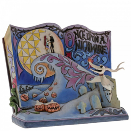 Nightmare Before Christmas Storybook H16cm Jim Shore 4057953