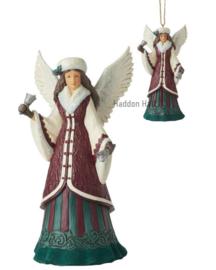 Victorian Angels with Bells - Set van 2 - Figurine & Hanging Ornament - Jim Shore