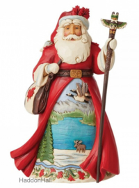 Canadian Santa - Jim Shore 6008915