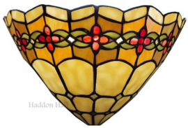 9884 Wandlamp Tiffany B30cm schelpmodel Victoria
