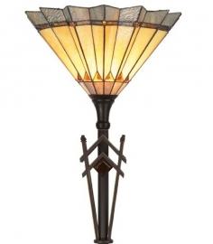 5763 Vloerlamp Tiffany H184cm Ø45cm Sunrise