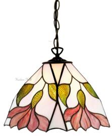 TS07M Hanglamp Tiffany 25x25cm Botanica