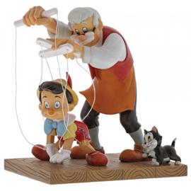 Pinocchio  Little Wooden Head  H16cm Enchanting Disney A29296  Pinokkio