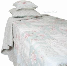 Q098 Clayre & Eef Bedsprei 140 x 220 cm Quilt Patchwork beddesprei
