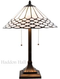 5887 Tafellamp Tiffany H60cm Ø40cm Wilson
