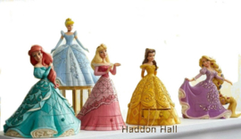 Treasure Keepers Set van 5  Prinsessen  H18cm Jim Shore