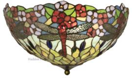 5947 Plafonniere Tiffany  Ø42cm  2xE27 Calopteryx