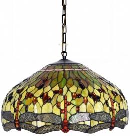 9200GR Hanglamp Tiffany Ø53cm  Yellow Dragonfly