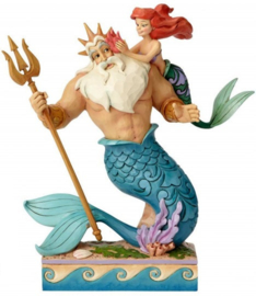 ARIEL & TRITON Daddy's Little Princess H25cm Jim Shore 4059730 Disney Traditions