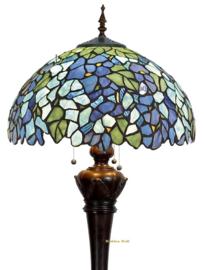 KT20V Vloerlamp met Bolling H164cm met  Tiffany Ø50cm Violet