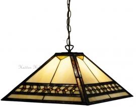 5671 97 Hanglamp Tiffany 36x36cm  Línur
