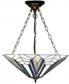 T026FL SU3 Hanglamp Tiffany Ø48cm Astoria