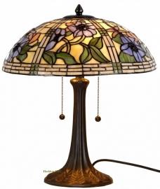 5418 9023 Tafellamp Tiffany H44cm Ø40cm Garden Dragonfly