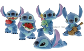 Stitch Hugs - Set van 5 figurines Disney Showcase