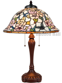 5183 Tafellamp Tiffany H65cm Ø46cm Butterfly Monarch