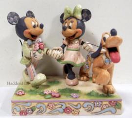 Mickey, Minnie & Pluto H10cm Jim Shore 6010101