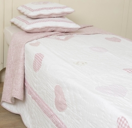 Q089 Clayre & Eef Bedsprei 260 x 260 cm Quilt Patchwork