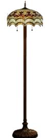 TG67L 9454 Vloerlamp Tiffany H164cm Ø43cm Vesta