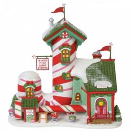 North Pole Candy Striper H21,5cm Village by D56 A30066