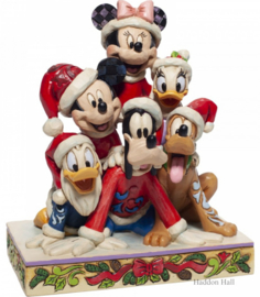 Mickey & Friends Stacked H15cm Jim Shore 6007063
