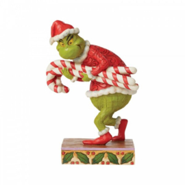 Grinch - Stealing Candy Canes H19cm Jim Shore 6008888