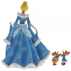 Cinderella , Jaq&Gus Christmas figurine H21cm Disney Showcase 6002181