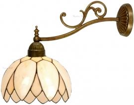 5135 1142 Wandlamp met Tiffany kap Ø26cm  Lelie