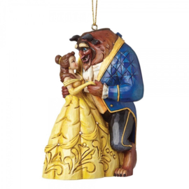 BELLE Beauty & The Beast Hanging ornament H10cm Jim Shore a28960
