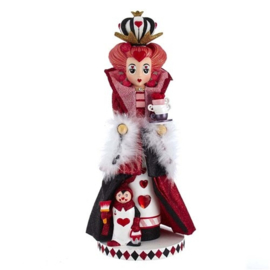 Queen of Hearts Nutcracker H45cm - Christmas Inspirations