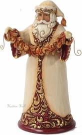 """""""Glorious Christmas"""" H25cm Jim Shore Santa Kerstman 4027799 uit 2012"""