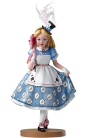 Alice  Masquerade figurine H 18cm Showcase Haute Couture Disney 4050318