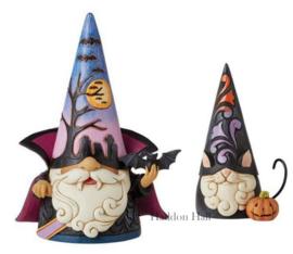 Vampire & Black Cat Gnome H18cm Jim Shore