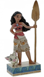 """MOANA """"Find your own Way"""" Moana H 19cm Jim Shore 4056754"""