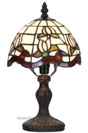 6180 Tafellamp Tiffany H32cm Ø18cm