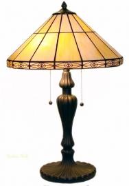 3088 Tafellamp Tiffany H65cm Ø42cm Serenity