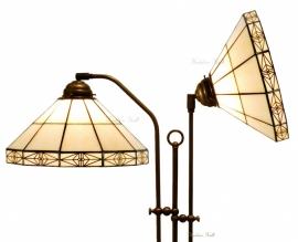 3087 Vloerlamp met 2 Tiffany kappen Ø32cm Serenity