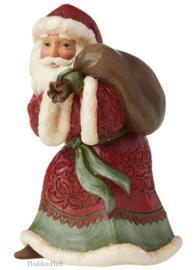 Victorian Santa Christmas Joy on the Way H16cm Jim Shore 6009491