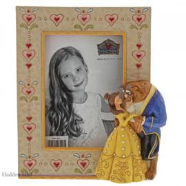 Belle & Beast Photoframe H18cm Jim Shore 6001369 fotolijst Traditions