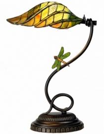 5507 Bureaulamp H45cmmet Tiffany kap en Libelle