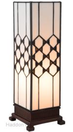 5888 Tafellamp Tiffany H35cm Miniwindlicht Wilson