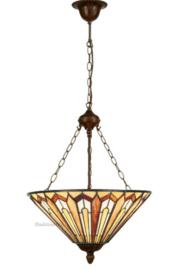 COT06 8842 Hanglamp Tiffany Ø52cm Eldingar
