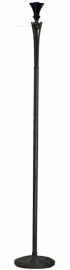 "TG08BU Voet voor Vloerlamp Uplight H160cm ""Dark Star"""