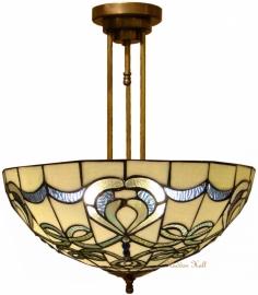 9272G-203 Hanglamp Plafonniere Tiffany Ø50cm Blueribbon