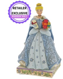 Cinderella Christmas H17cm Jim Shore 6007065 KerstCinderella