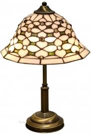 505 404 Tafellamp Tiffany H41cm Ø26cm Jewel