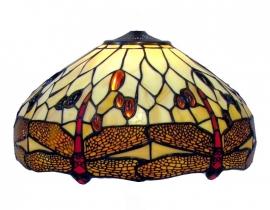 1101 Kap Tiffany Ø40cm Beige Dragonfly