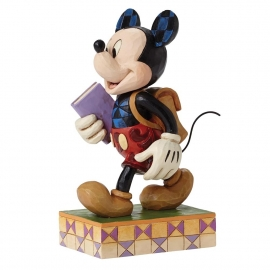 MICKEY Eager To Learn H14cm Jim Shore 4051995